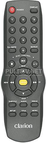 Clarion VS738 пульт для автомобильного DVD-плеера