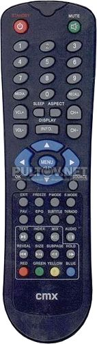 Commax CMX LCD 7190 пульт для телевизора