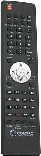 Compro VideoMate T1000W пульт ДУ