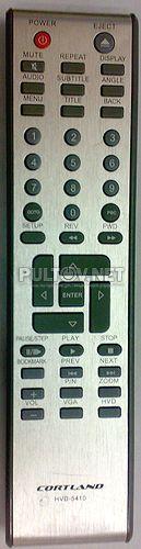 HVD-5410 пульт для DVD-плеера