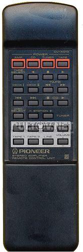 CU-A010, CU-A013, CU-A018 (AXD7053) пульт для усилителя PIONEER A-307R и других