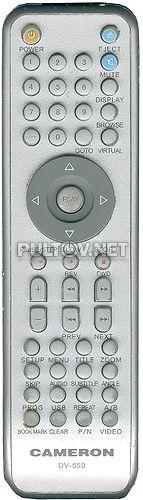 DV-550 пульт для DVD-плеера Cameron