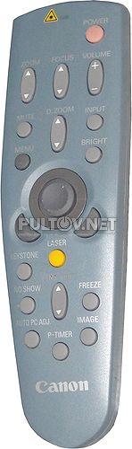 LV-7555 пульт для проектора Canon