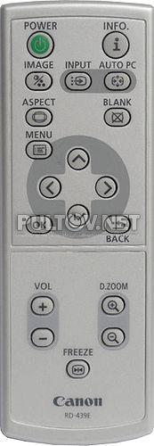 CANON RD-439E пульт для проектора CANON LV-7375