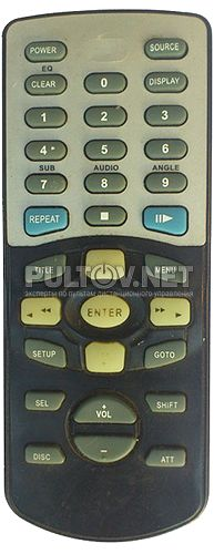 DVA-3206 пульт для DVD-чейнджера