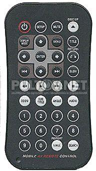 DVA-3210 пульт для DVD-чейнджера