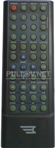 CH-8036 пульт для автомагнитолы Challenger DVA-9770