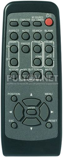 Christie LX41 пульт для проектора