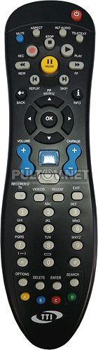 Tatung STB-3012CDA пульт для приставки цифрового телевидения (Cisco CRB18 TTI)