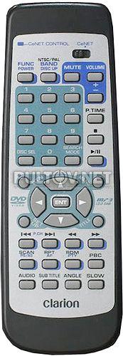 Clarion RCB-161-600 пульт для автомобильного DVD-ресивера VCZ628 и др.