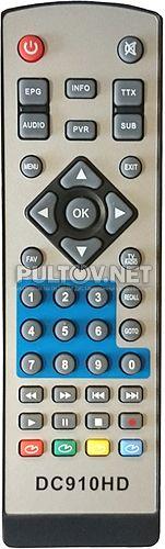 OPENMAX DT-210, DB-2205, DB-2206HD пульт для DVB-T2-ресивера