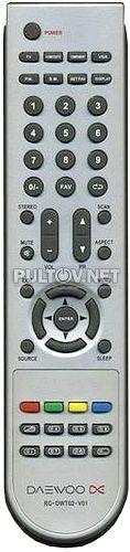 RC-DWT02-V01 пульт для телевизора Daewoo DSL-15M1T