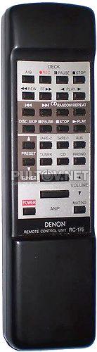 RC-176 пульт для усилителя Denon PMA-425R и др.
