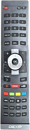 42A8000, 50A8000 пульт для телевизора DEXP
