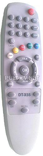 Digital Telecom DT-X55, STARNET DT-X55 пульт ДУ