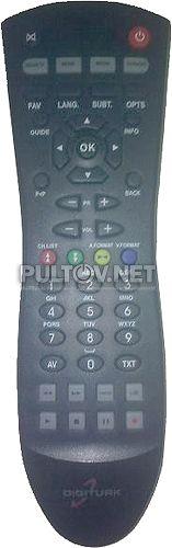 Digiturk DT-8002 пульт для спутникового ресивера