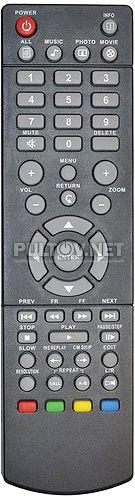 HDMP-300, HDMP-301 пульт для медиаплеера DIGMA