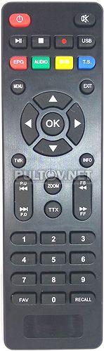 HOBBIT IRON BOX III пульт для DVB-T2-ресивера