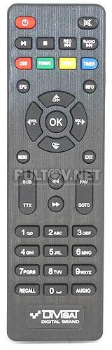 DVS-HOBBIT UNIT III пульт для DVB-T2-приставки