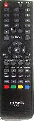 EN-83801 пульт для телевизора DNS