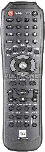 DUAL DVD-MS110 пульт для DVD-плеера