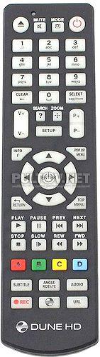 HD Lite 53D, Dune HD TV-303D Wi-Fi пульт для медиаплеера Dune