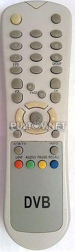 DVB пульт ДУ #0091
