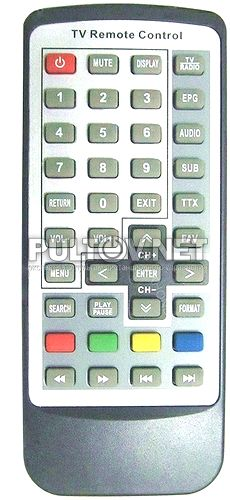 DVB-T2 KR-288 пульт для TV-тюнера (Mobile Digital TV Receiver)