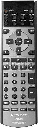 DVD-200, Audiovox MMDV2 Movies 2 Go CHALLENGER, ELENBERG пульт для DVD-плеера