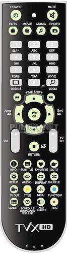 Tvix-HD M-5100, M-7100 пульт для медиаплеера DVICO