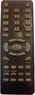 HIVISION DVR-8x8DVNU пульт для видеорегистратора
