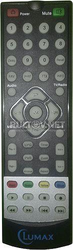 Lumax DVT2-4110HD пульт для цифрового приемника Lumax