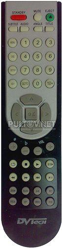 DVTech D630 пульт для DVD-плеера