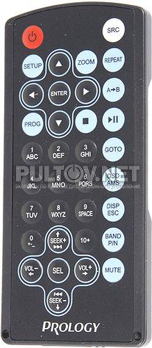 DVU-1500 пульт для автомагнитолы Prology