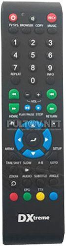 DXtreme DX-380 пульт для HD-плеера