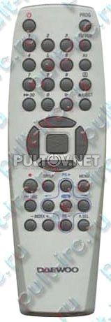 RC-0126B пульт для видеомагнитофона Daewoo T280K