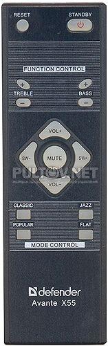 65155 пульт для акустической системы Defender Avante X55