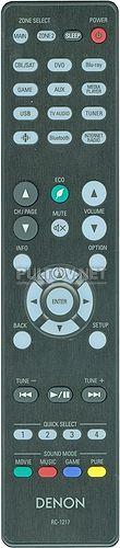 RC-1217 30701024500AD пульт для AV-ресивера Denon AVR-X1400H и др.