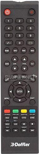 32CH33-T2 пульт для телевизора Doffler