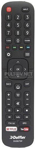 EN2B27,  EN2B27DF, RC3394402/01 пульт для телевизора Doffler 32CHS71 и др.