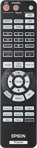 EH-TW5910, EH-TW6100 пульт для проектора EPSON