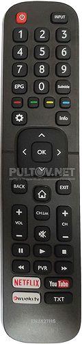 EN2X27HS пульт для телевизора Hisense H40M3300 и др.