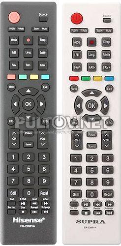 ER-22601A пульт для телевизора SUPRA STV-LC32T871WL, Hisense LHD32D50TS и др.