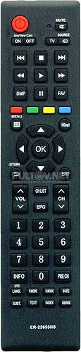 ER-22655HS неоригинальный пульт для телевизора Hisense LTDN50K2204WTEU и др.