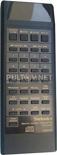 EUR64798 пульт для CD-проигрывателя Technics SL-PG420A