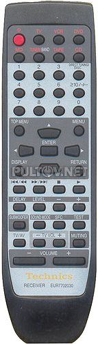 EUR7702030, EUR7702040, EUR7702KC0 пульт для ресивера Technics SA-DX950 и др.