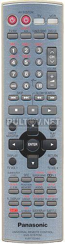 EUR7722X60 пульт для домашнего кинотеатра Panasonic SA-HT928EE и др.