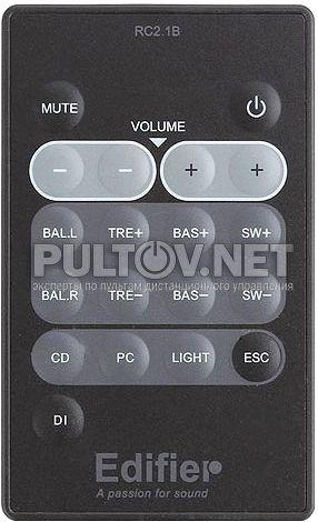 RC2.1B пульт для акустической системы Edifier S530D