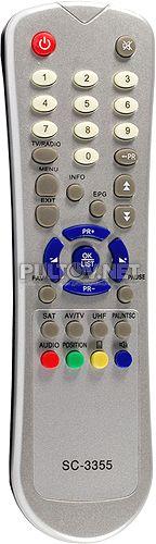 Edision SC-3355 пульт для спутникового ресивера Edision