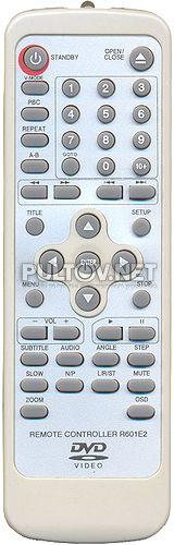 DVDP-2410 пульт R601E2 для DVD-плеера DVDP-2410